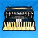 "Vintage Titano Ideal Model Student 17"" Keyboard Accordion Made in Italy"